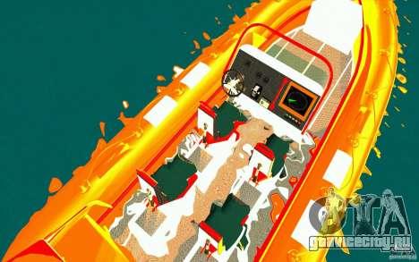 Inferno orange для GTA San Andreas вид справа