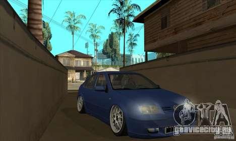 VW Bora VR6 Street Style для GTA San Andreas вид сзади