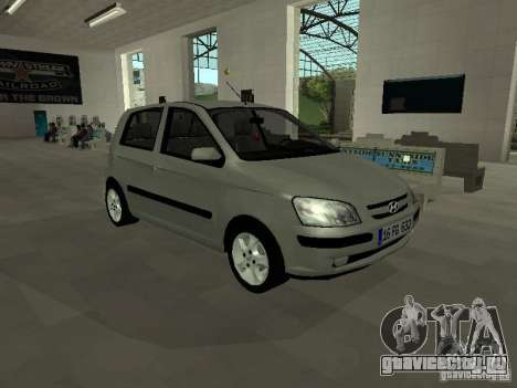 Hyundai Getz для GTA San Andreas