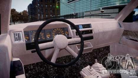 Nissan Terrano для GTA 4 вид справа