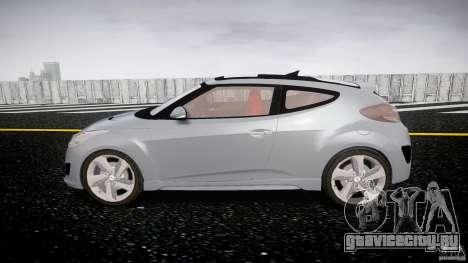 Hyundai Veloster Turbo 2012 для GTA 4 вид изнутри