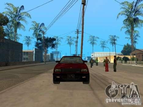 Blista From GTA IV для GTA San Andreas вид слева