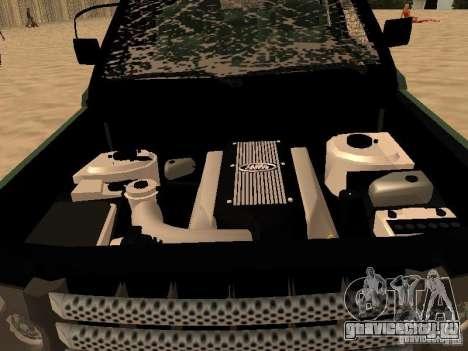 Land Rover Range Rover Sport для GTA San Andreas вид сбоку