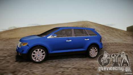 Ford Edge 2010 для GTA San Andreas вид слева