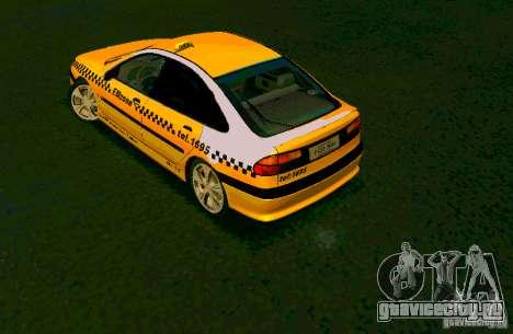 Renault Megane Taksi для GTA San Andreas вид слева