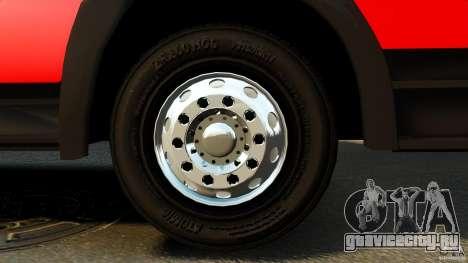 Mercedes-Benz Atego FPTGP Sapeurs Pompiers ELS для GTA 4 вид сзади