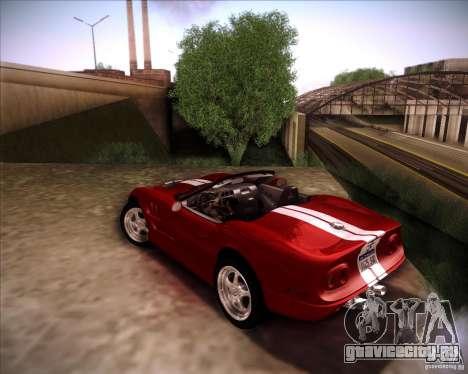 Shelby Series One 1998 для GTA San Andreas вид справа