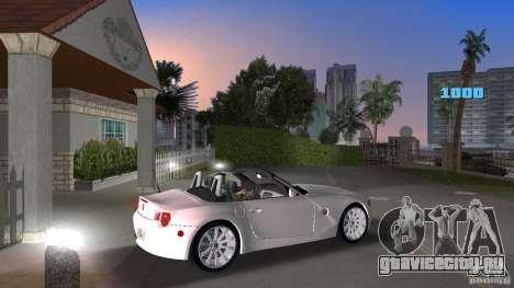 BMW Z4 2004 для GTA Vice City вид справа
