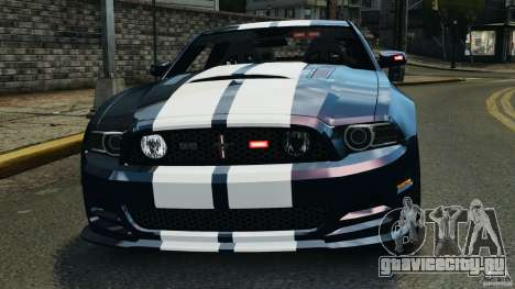 Ford Mustang 2013 Police Edition [ELS] для GTA 4 вид снизу