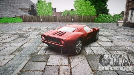 Ford GT для GTA 4 вид сбоку