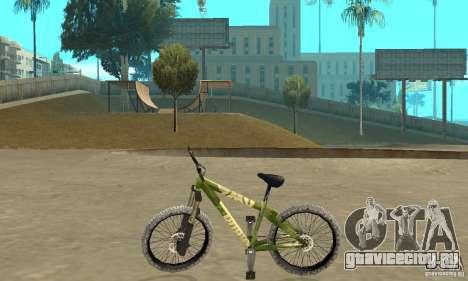 Hardy 3 Dirt Bike для GTA San Andreas вид слева
