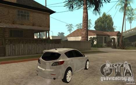 Mazda 3 Mazdaspeed 2010 для GTA San Andreas
