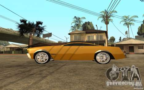 MGC Phantom для GTA San Andreas вид слева