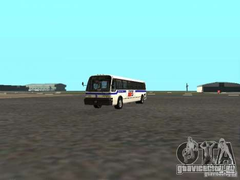 GMC RTS MTA New York City Bus для GTA San Andreas вид слева