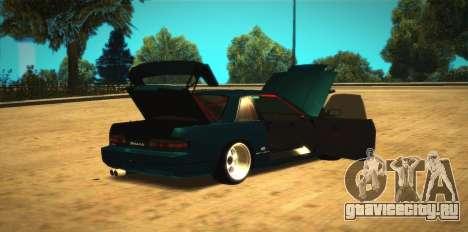 Nissan Silvia S13 Onevia для GTA San Andreas вид справа
