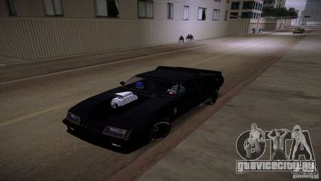 Ford Falcon GT Pursuit Special V8 Interceptor 79 для GTA Vice City вид изнутри
