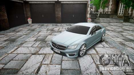 Mercedes Benz CLS 63 AMG 2012 для GTA 4