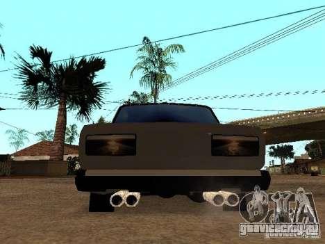Vaz 2107 для GTA San Andreas вид справа