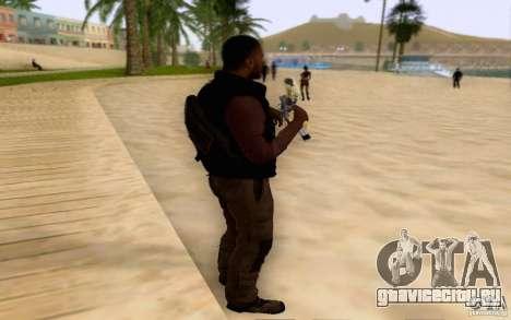 Салазар в гражданском для GTA San Andreas второй скриншот