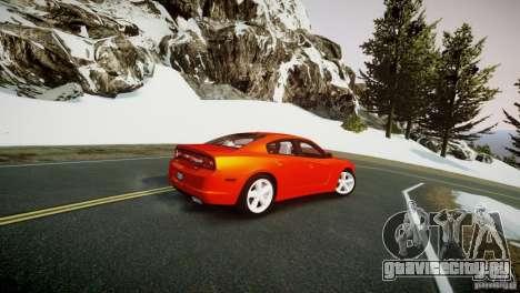Dodge Charger R/T 2011 Max для GTA 4 вид слева