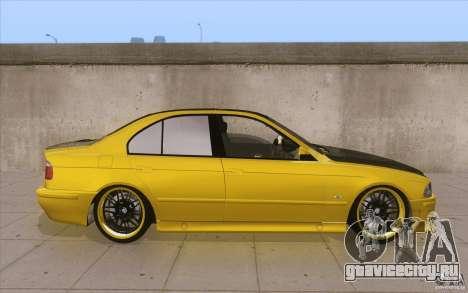 BMW M5 E39 - FnF4 для GTA San Andreas вид изнутри