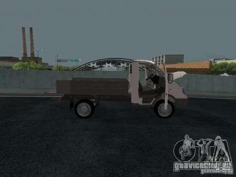 ГАЗ Соболь 2310 бортовой для GTA San Andreas вид справа