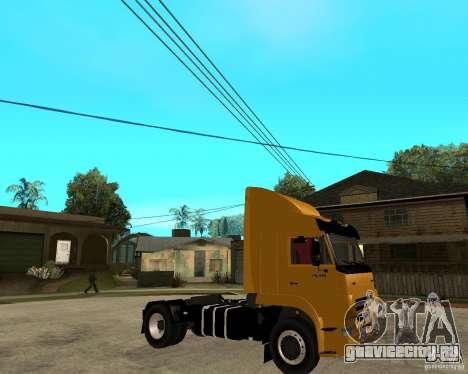 КамАЗ 5460M TAI version 1.5 для GTA San Andreas вид справа