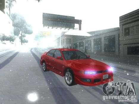 Mitsubishi Galant VR6 для GTA San Andreas вид слева