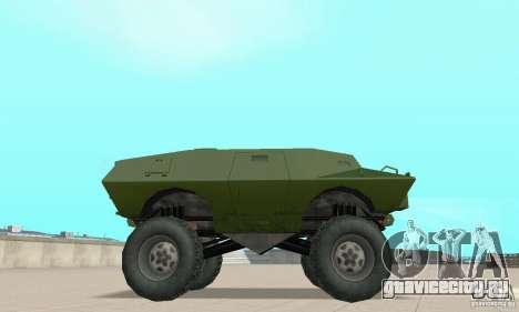 Trail Monster V.1.0 для GTA San Andreas вид справа
