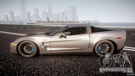 Chevrolet Corvette ZR1 2009 v1.2 для GTA 4 вид слева