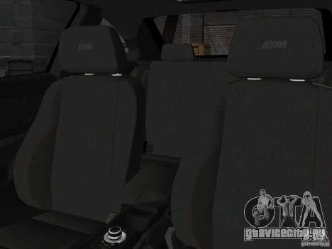 BMW 1M Coupe RHD для GTA Vice City вид сзади