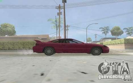 New Alpha для GTA San Andreas вид сзади слева