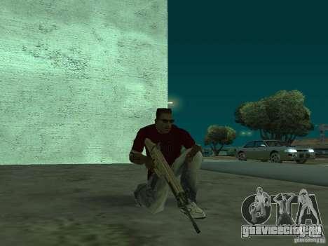 FN Scar-L HD для GTA San Andreas пятый скриншот