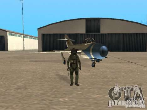Миг 15 С рабочим вооружением для GTA San Andreas