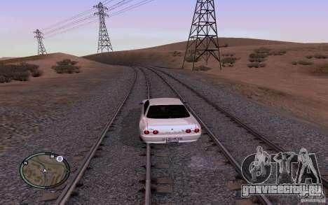 Русские Рельсы для GTA San Andreas седьмой скриншот