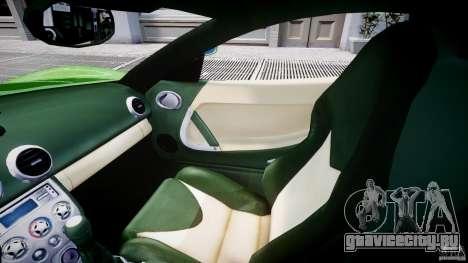 Ascari KZ-1 для GTA 4 вид изнутри