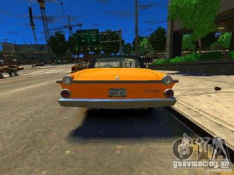 Dodge Dart для GTA 4 вид сзади слева