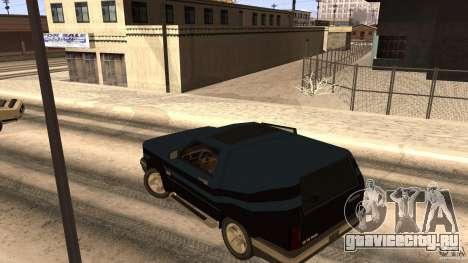 Sandking EX V8 Turbo для GTA San Andreas вид сзади