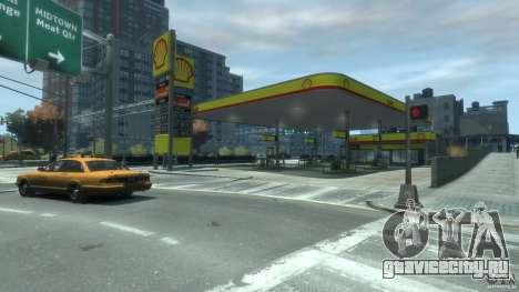 Shell Petrol Station V2 Updated для GTA 4 второй скриншот