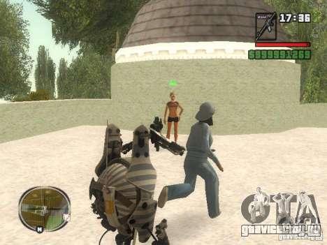 Robot из Portal 2 №1 для GTA San Andreas четвёртый скриншот
