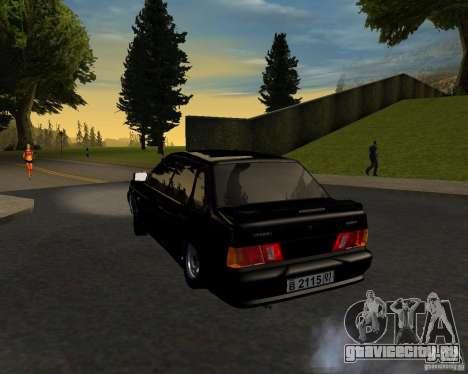 ВАЗ 2115 TJK для GTA San Andreas вид слева