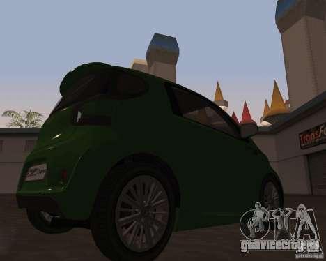 Aston Martin Cygnet Concept 2009 V1.0 для GTA San Andreas вид слева
