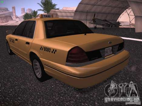 Ford Crown Victoria Taxi 2003 для GTA San Andreas вид справа