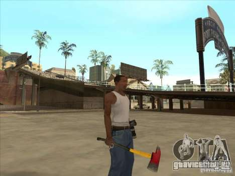 Топор из Killing Floor для GTA San Andreas второй скриншот