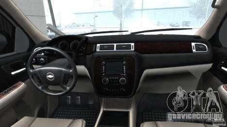 Chevrolet Tahoe 2007 для GTA 4 вид справа