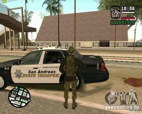 Скин Praice из COD 4 для GTA San Andreas пятый скриншот