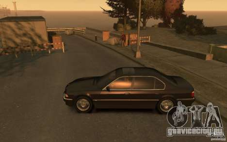 BMW 750iL (E38) v.3 для GTA 4 вид слева