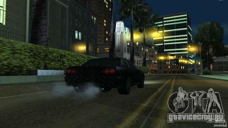 Elegy Carbon Style V 1.00 для GTA San Andreas вид сзади слева