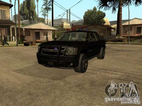 Chevrolet Avalanche Police для GTA San Andreas