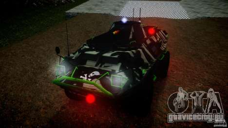 Monster APC для GTA 4 вид справа